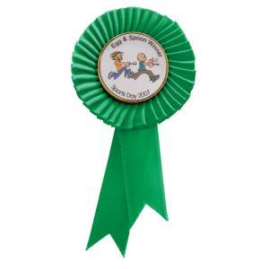 Tribute Mini Rosette Green 90mm