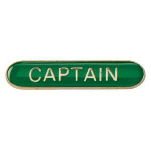 Scholar Bar Badge Captain – Green
