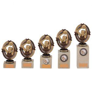 Maverick Legend Block Netball Bronze