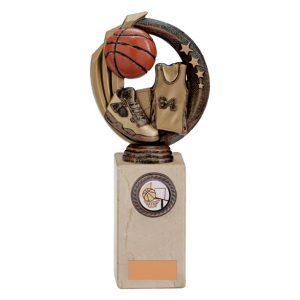 Renegade Basketball Legend Award Antique Bronze & Gold – 220mm