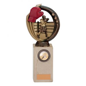 Renegade Boxing Legend Award Antique Bronze & Gold