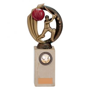 Renegade Cricket Legend Award Antique Bronze & Gold