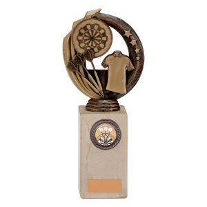 Renegade Darts Legend Award Antique Bronze & Gold