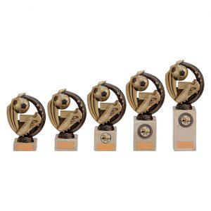 Renegade Football Legend Award Antique Bronze & Gold