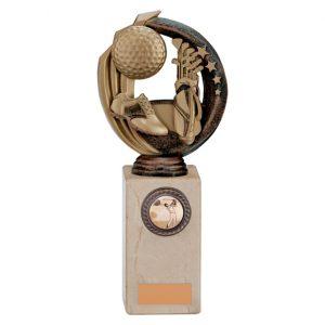 Renegade Golf Legend Award Antique Bronze & Gold