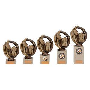 Renegade Rugby Legend Award Antique Bronze & Gold