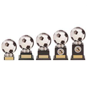 Valiant Legend Football Award Silver & Black