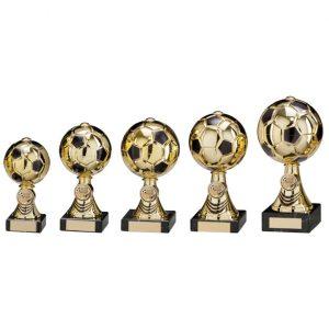 Sienna Football Gold & Black Trophy