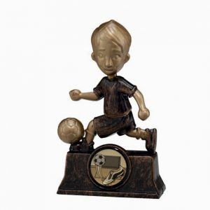 The Rising Star Plastic Football Trophy 105mm