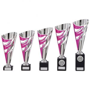 Razor Pink & Silver Cup