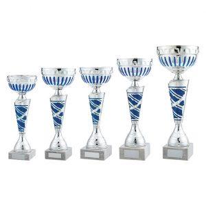 Charleston Cup Silver & Blue