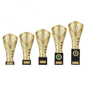 All Stars Large Rapid Trophy Gold