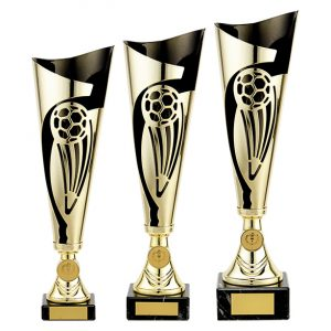 Champions Football Cup Gold & Black