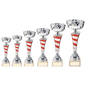 Eternity Cup Silver & Red