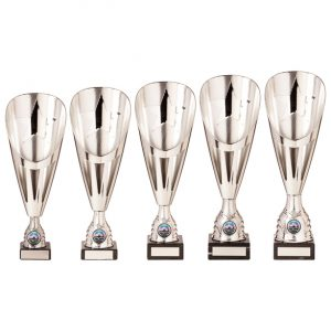 Rising Stars Deluxe Plastic Lazer Cup Silver