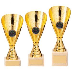 Rising Stars Premium Plastic Trophy Gold