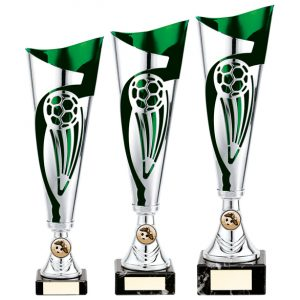 Champions Football Cup Silver & Green