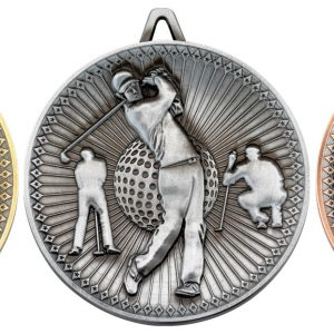 GOLF DELUXE MEDAL