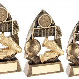BRZ/GOLD FOOTBALL DIAMOND COLLECTION TROPHY