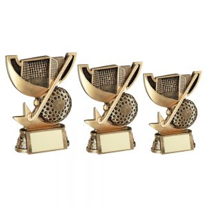 BRZ/GOLD CUP RANGE FOR HOCKEY TROPHY
