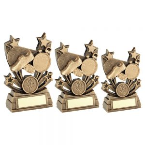 BRZ/GOLD SHOOTING STAR SERIES ATHLETICS TROPHY