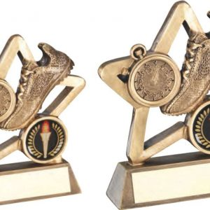 BRZ/GOLD ATHLETICS MINI STAR TROPHY