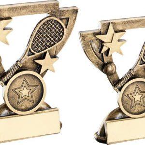 BRZ/GOLD SQUASH MINI CUP TROPHY