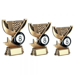 BRZ/GOLD CUP RANGE FOR POOL TROPHY