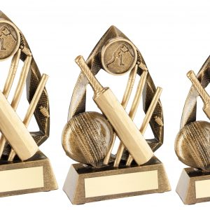 BRZ/GOLD CRICKET DIAMOND COLLECTION TROPHY