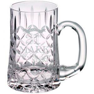 GLASS TANKARD – 610ML BLANK PANEL 5.5in