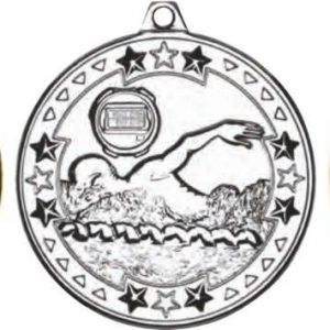 SWIMMING 'TRI STAR' MEDAL