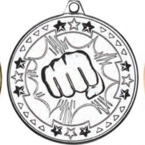 MARTIAL ARTS 'TRI STAR' MEDAL