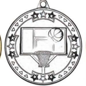 BASKETBALL 'TRI STAR' MEDAL