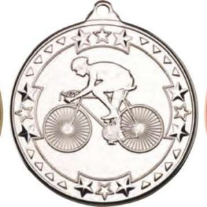 CYCLING 'TRI STAR' MEDAL