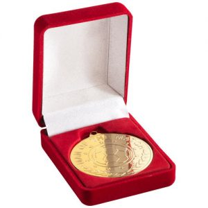DELUXE RED MEDAL BOX