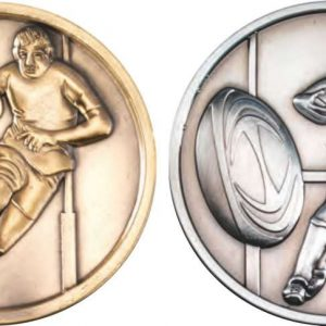 RUGBY MEDALLION