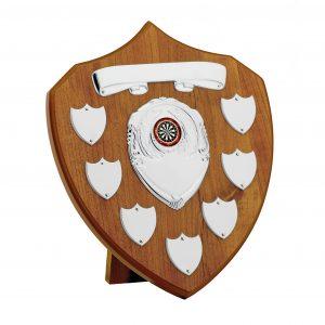 Maple Finish Annual Shield