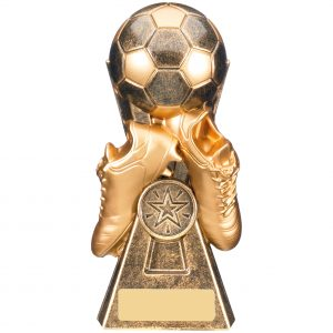 Gravity Bronze & Gold Football and Boots