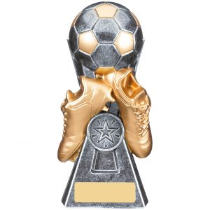 Gravity Silver & Gold Football and Boots