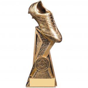 Storm Bronze & Gold Football Boot