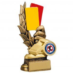 Referee Cards Trophy – 15cm