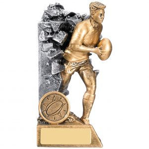 Male Breakout Rugby Trophy