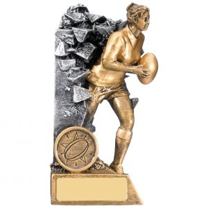 Female Breakout Rugby Trophy