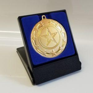 SPECIAL OFFER Standard Starburst Medal & Plastic Flip Lid Box